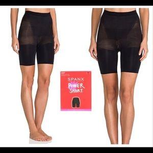 NWT SPANX Power Short Black Size 1X